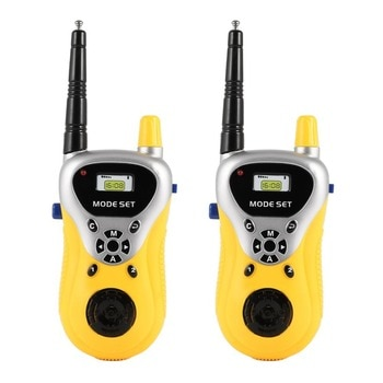 2 stücke Mini walkie talkie kinder Radio Handheld Spielzeug für Kinder Geschenk Tragbare Elektronische Zwei-Weg Radio communicator
