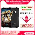 OUKITEL WP12 Pro 4 Гб + 64 Гб IP68 Водонепроницаемый прочный смартфон MT6762D Octa Core Android 11 5,5 ''HD + 4000 мА/ч, мобильный телефон NFC - фото