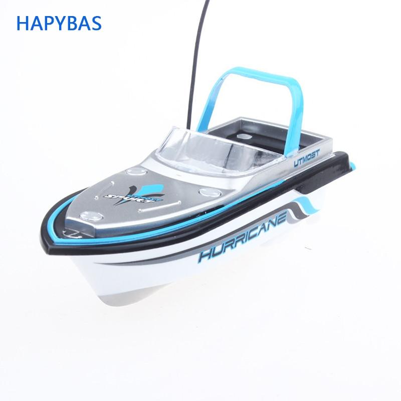 Lovely Super 13cm Radio Control Mini RC Boat Dual Motor  4 Channels speech boat 777-218