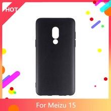 15 Case Matte Soft Silicone TPU Back Cover For Meizu 15 Phone Case Slim shockproof
