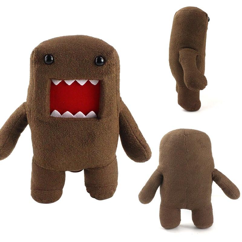 32cm grande estilo domo kun bonecas de pelúcia engraçado domokun dos desenhos animados brinquedos de pelúcia macio para presentes