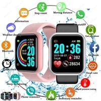 wwoor new d20 smart watches men and women heart rate blood pressure monitor sports fitness bluetooth compatible smart bracelet