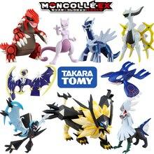 Takara tomy tomica moncolle figurine monstre de poche marionnette pokemon figurines bébé jouets noir kyurem gradon mewtwo poupée en résine moulée sous pression
