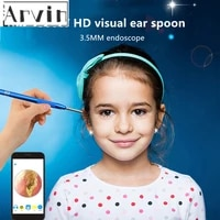 waterproof hd endoscope for mobile smartphone otoscopio usb endoscope ear camera endoscopio endoskop android ios universal e4048