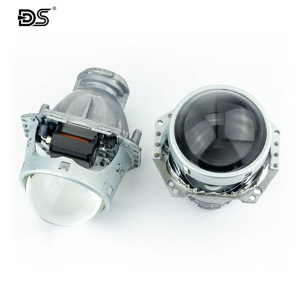 2 uds 3 pulgadas Universal Hella5 Bi xenon HID lente del proyector ajuste D1S D2S D3S D4S D2H xenón bombilla de la edición mejorada del faro