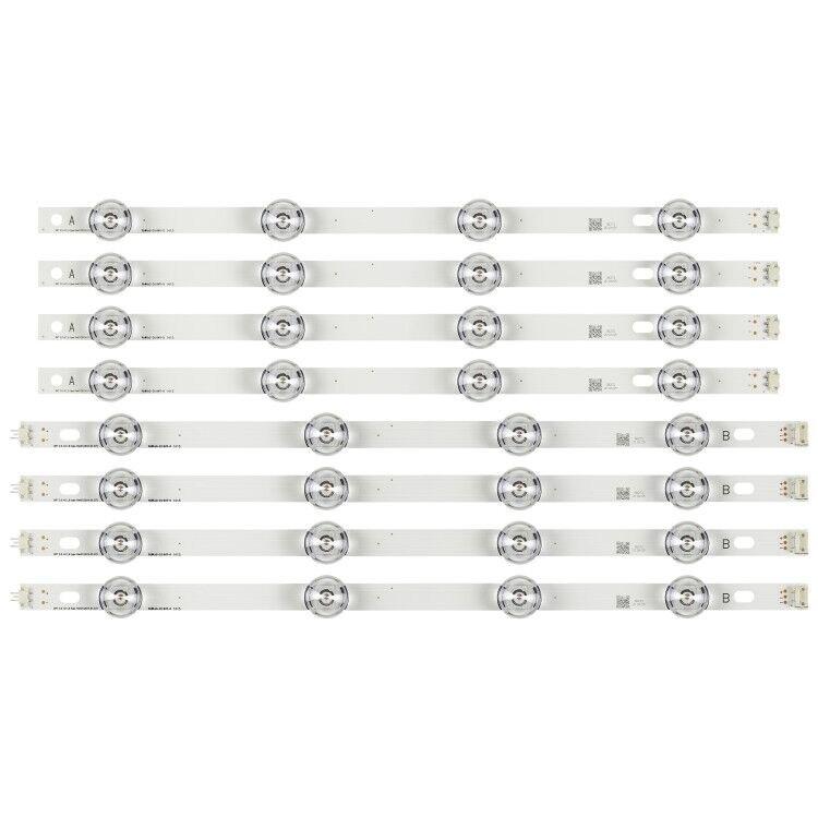 """825mm de tira de LED para iluminación trasera 8 leds para LG TV de 42 pulgadas INNOTEK DRT 3,0 42 """"6916L-1709B 6916L-1710B 6916L-1956A 6916L-1957A 1956E"""