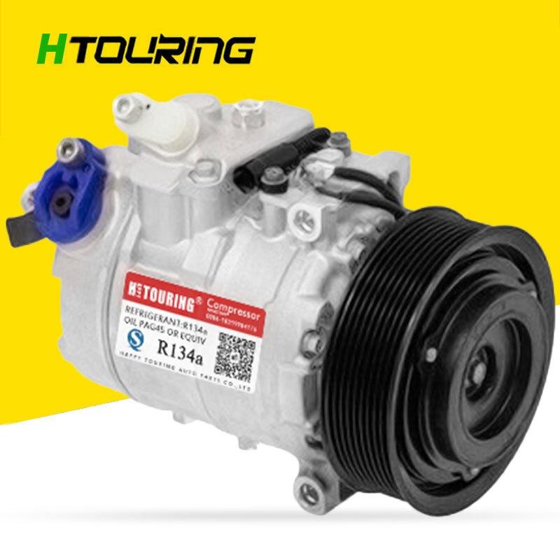 7SBU16C CAR AC Compressor For Claas Combine Hexler Harvester 447190-8250 447160-8130 DCP17125 0002344311 A0002344311 DCP17125