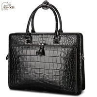 fashion and luxury highlight the temperament brand name briefcase laptop bag business mens leather handbag