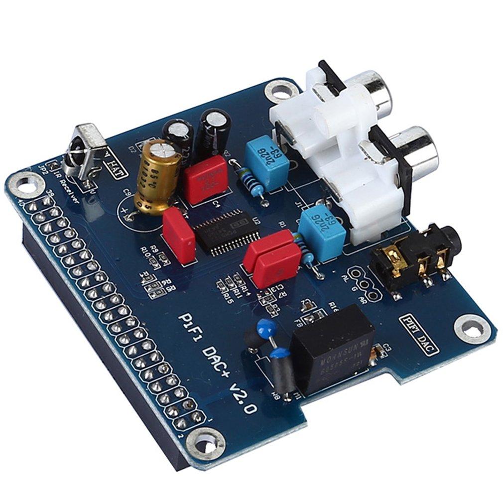 PIFI Digi DAC+HIFI DAC Audio Sound Card Module I2S Interface For Raspberry Pi 3 2 Model B B+Digital Pinboard V2.0 Board SC08