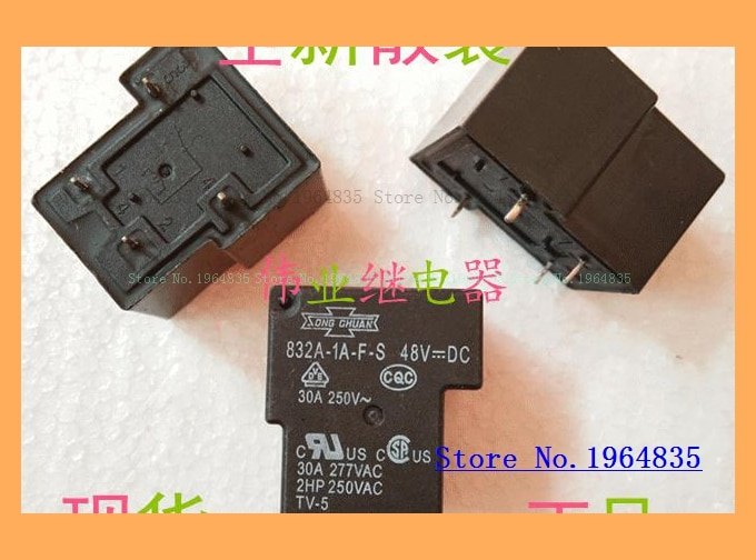 832A-1A-F-S 48VDC 4