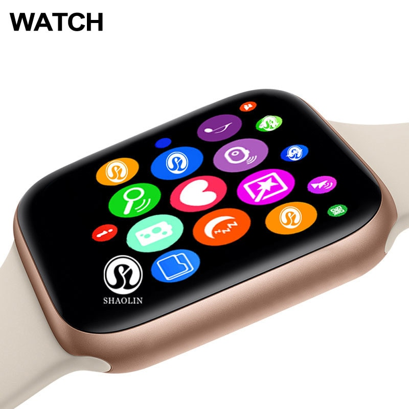 Buy 1 Get 1 Free Smart Watch Series 7 44MM For Apple IOS Android phone Heart Rate Bluetooth call Wireless Charger PK IWO13 W56
