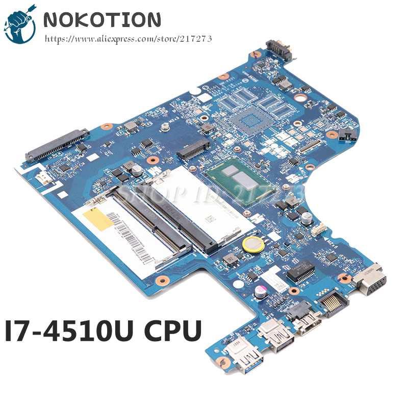NOKOTION 5B20H01111 5B20H01117 لينوفو IdeaPad G70-70 اللوحة المحمول AILG1 NM-A331 SR1EB I7-4510U وحدة المعالجة المركزية