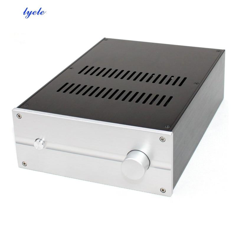 Amplificador de Potência Amplificador de Áudio All-aluminum Case Largura 222 Altura 92mm Wa81 310 *