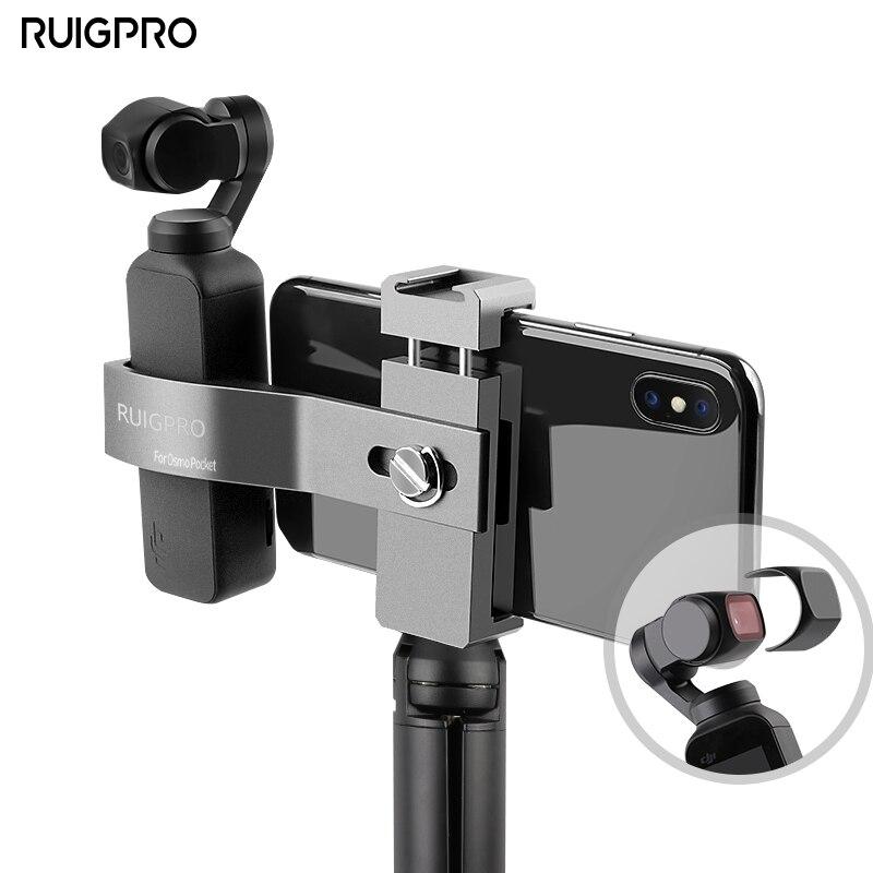 RuigPro DJI Osmo Pocket Foldable Phone Holder + Osmo Pocket Osmo Pocket Accessory Bracket Set In Stock