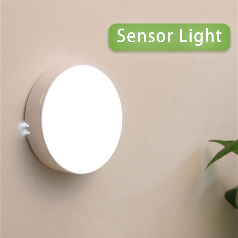 ночники LED Motion Sensor Night Light USB Rechargeable Bedroom Wall Lamp Stairs Intelligent Body Light Sensor Lamp Ночники