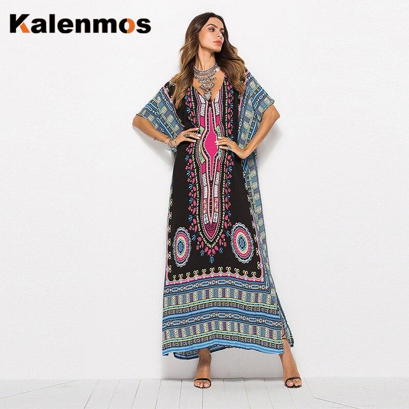 Moroccan Dress Women Turkish India Muslim Ribbon Ethnic Maxi Long Vestidos Gown Dubai Islamic Party Elegant Kaftan Abaya Femme