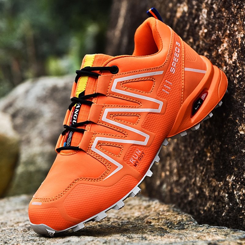 Outdoot Trail Sneakers Men Hiking Trekking Shoes Fashion Designer Walking 2021 Breathable Non-slip Trainer