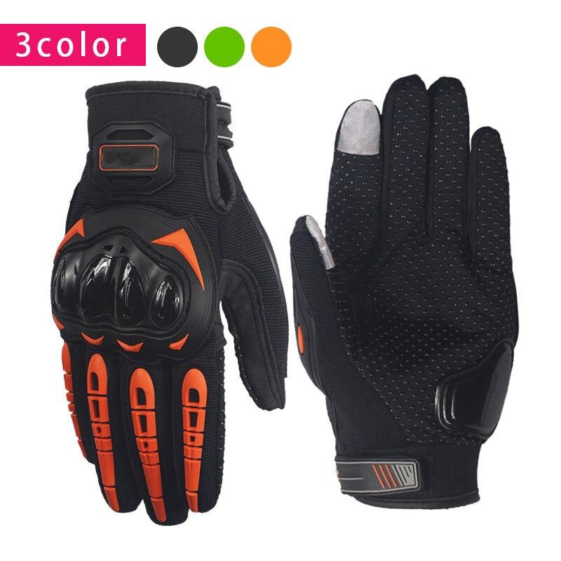 Dedo completa guantes de la motocicleta Motocross guantes para DUCATI 848, 999, 1098, 1199 corse diavel monstruo 600, 1100, 696, 796, 821, 900, 1200