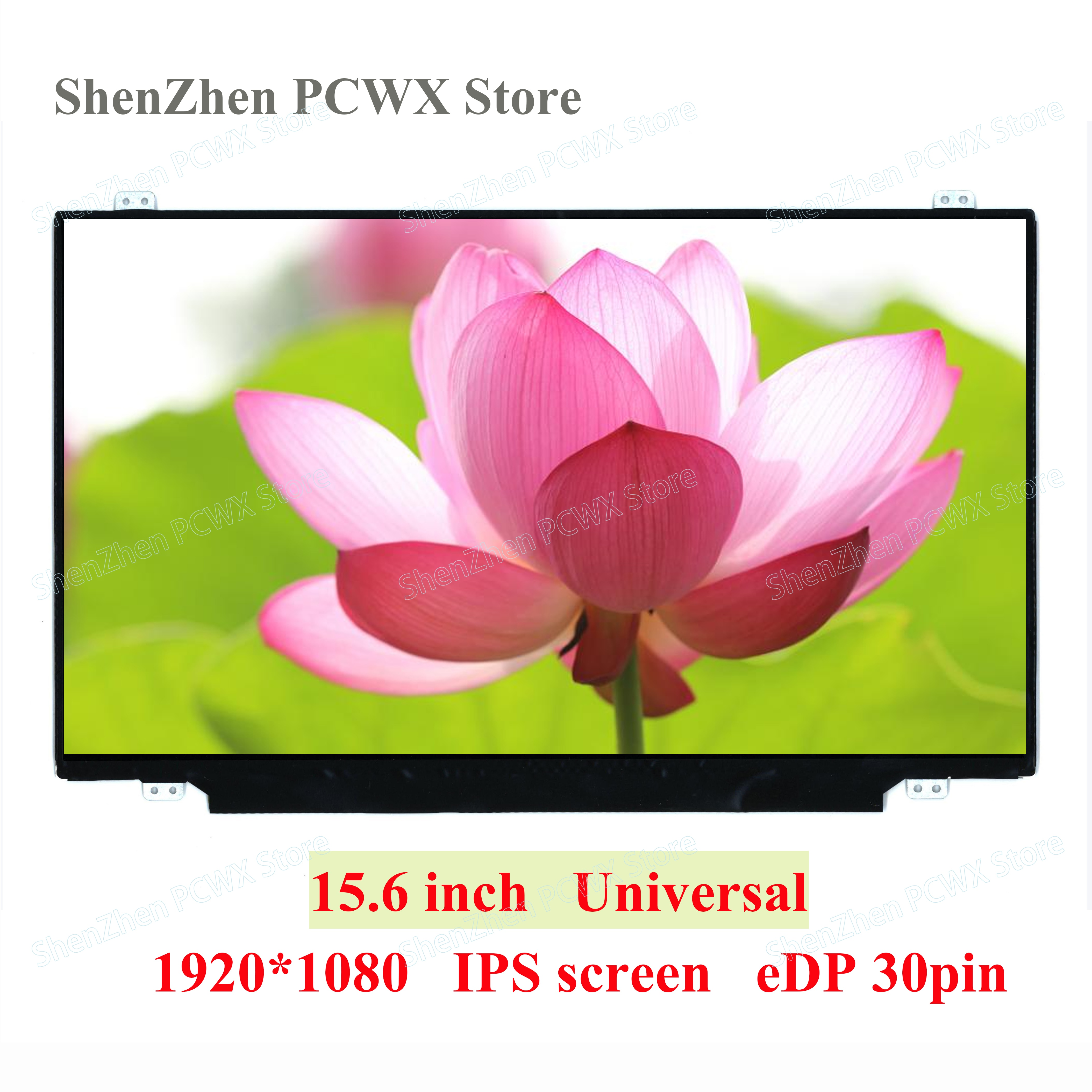 "15,6 ""IPS обновление для Lenovo HP Dell Acer ASUS тонкий дисплей N156HCE-EAA NV156FHM-N43 B156HAN01.2 экран 1920*1080 30pin Full HD"