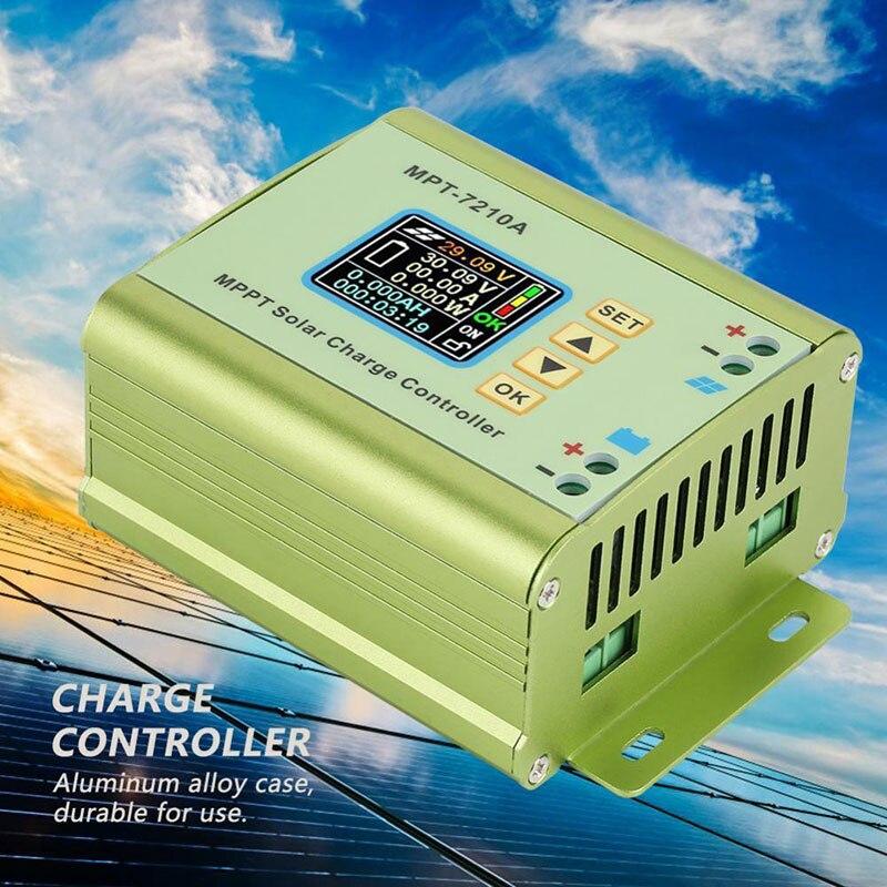 Módulo de controle de energia solar cnc controle numérico automatizado regulador de carga solar controlador impulso MPT-7210A hvr88