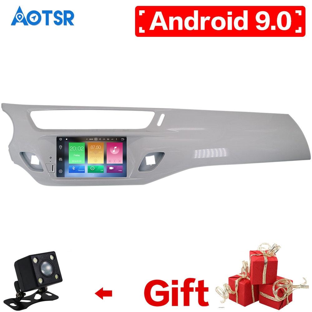AOTSR IPS Android 9,0 coche DVD reproductor estéreo GPS Glonass de navegación Multimedia para Citroen C3 DS3 2010, 2013, 2014, 2016 Auto Radio