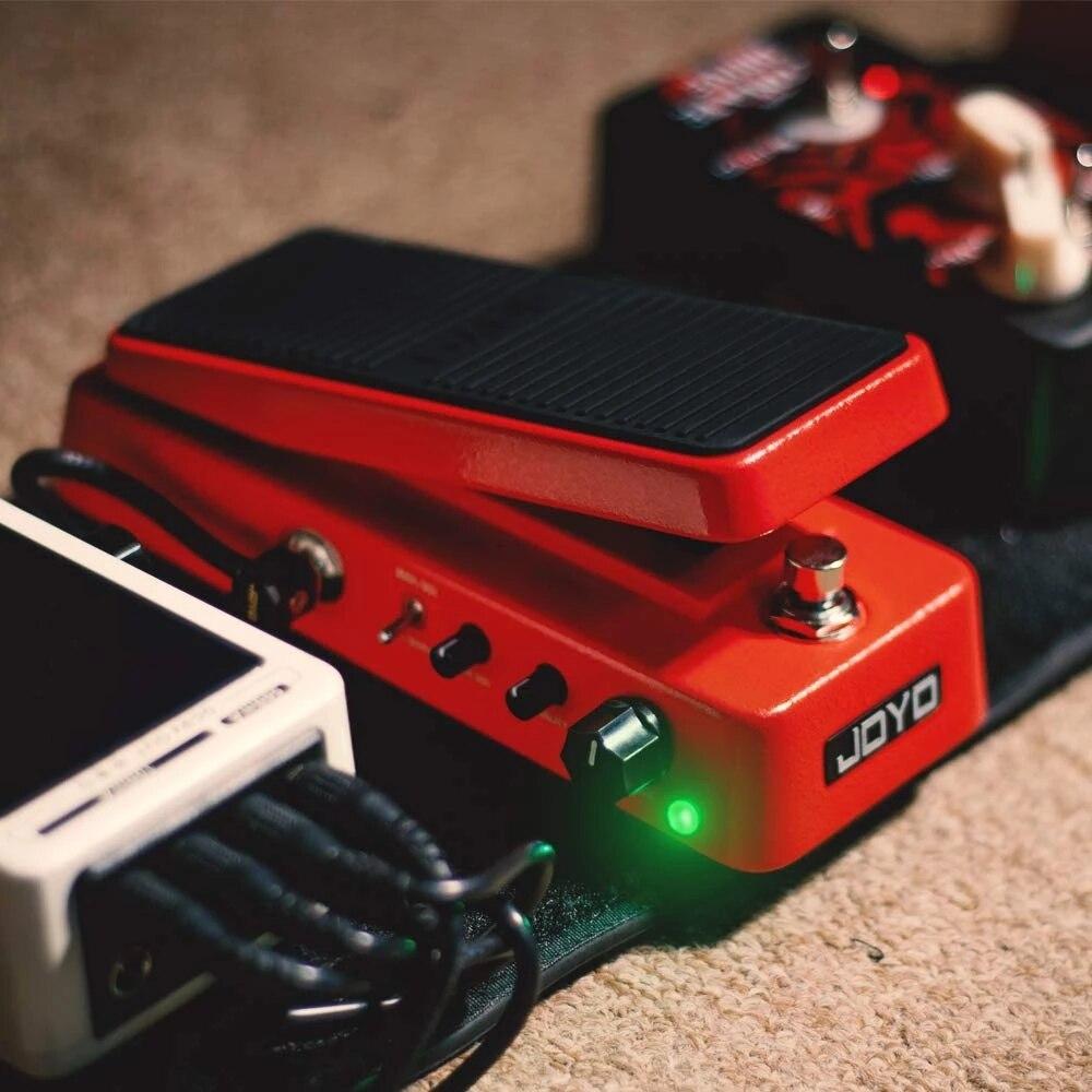JOYO Multifunctional Wah WAH Pedal Volume Pedal Mini Portable High Quality Guitar Pedal Guitar Accessories enlarge