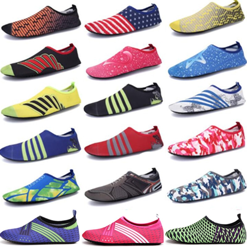 Men and women barefoot swimming sports water shoes outdoor quick-drying breathable beach large size