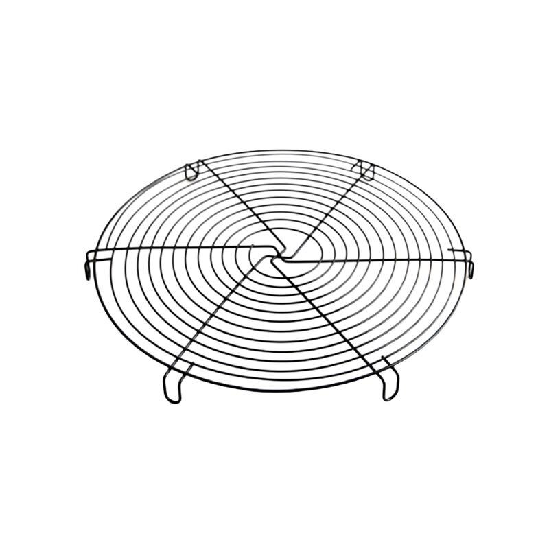 12 Inch Round Steamer Rack Biscuit Bread Cake Cooling Rack Wire Steamer Kettle Rack Holder Kitchen Baking Tools