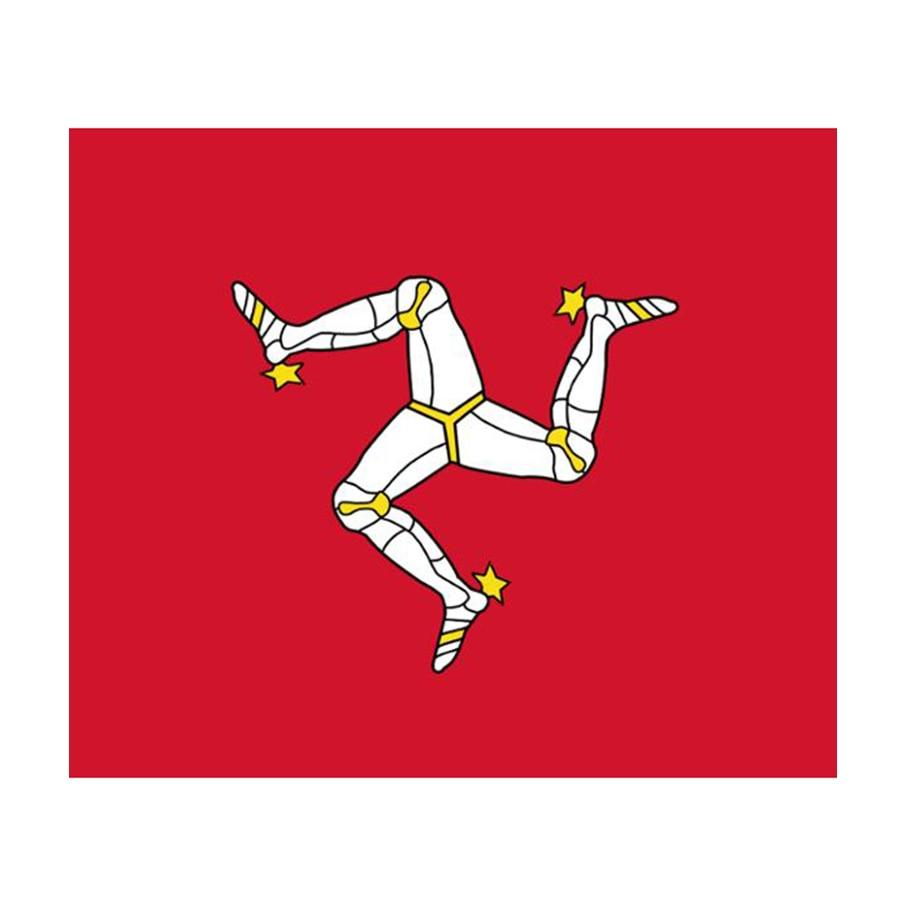 90*150cm Isle of man flag for decoration
