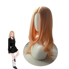 Anime Tokyo Revengers Wearing Wigs  Tachibana Hinat Orange Wig Cosplay Accessories Soft Long Wig