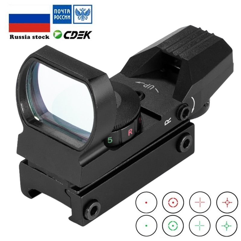 4x20 3in1 hunting rifle optic scope with red dot laser sight tactical crossbow riflescope 11mm rail mount for airsoft 22 caliber Red Dot Scope 11mm / 20mm Dovetail Riflescope Reflex Optics Sight For Hunting Rifle Gun Airsoft Tactical Sniper