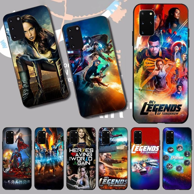 NBDRUICAI Legends Of Tomorrow Newly Arrived Black Cell Phone Case for Samsung S20 plus Ultra S6 S7 edge S8 S9 plus S10 5G