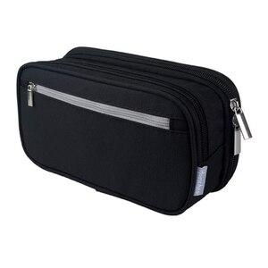 Pencil Case Multifunctional Pen Bag Stationery Case Makeup Bag Zipper Bag for Boys Girls Students Office