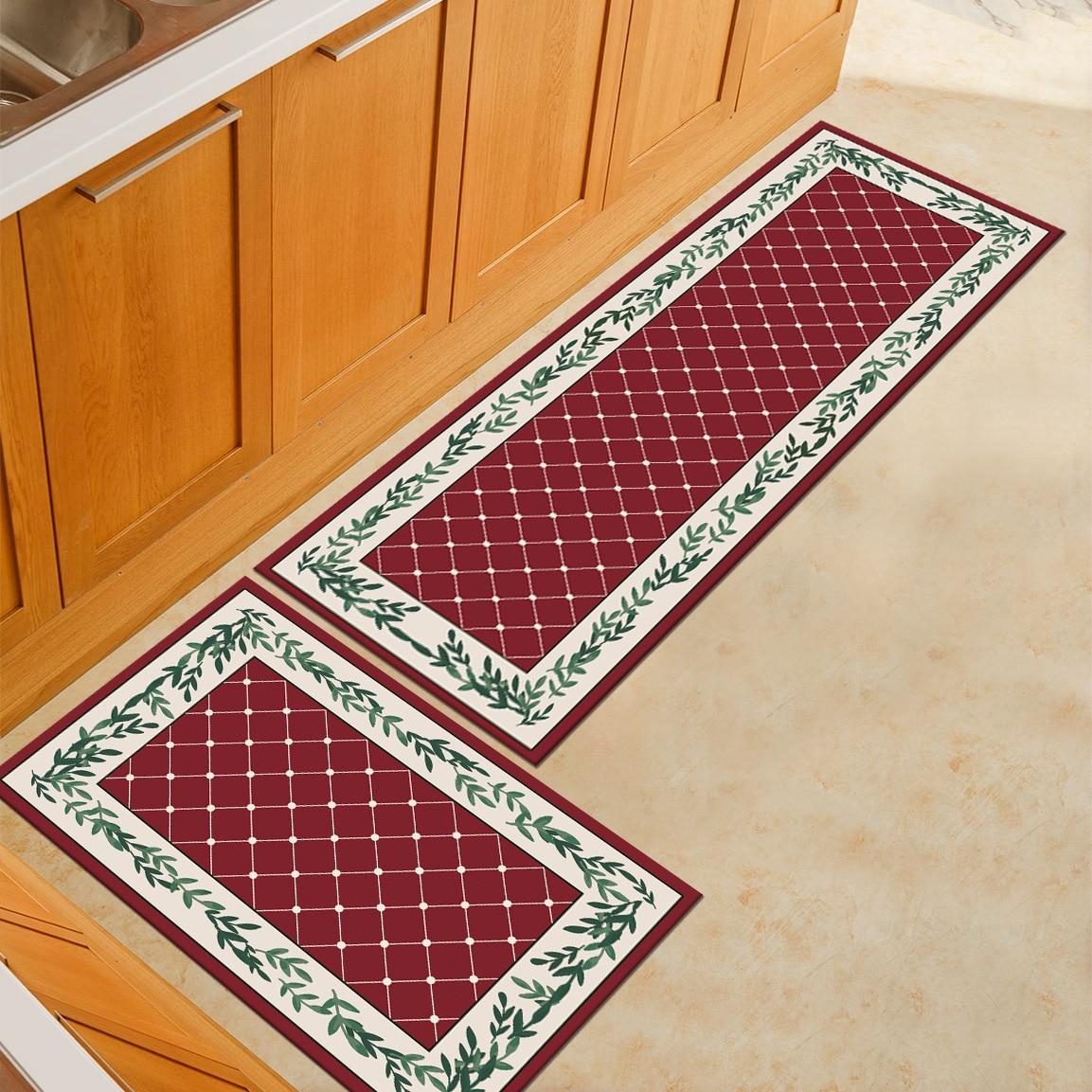 Tapete de cozinha antiderrapante tapete impresso moderno tapete de porta tapete tapete de cozinha tapete de cozinha