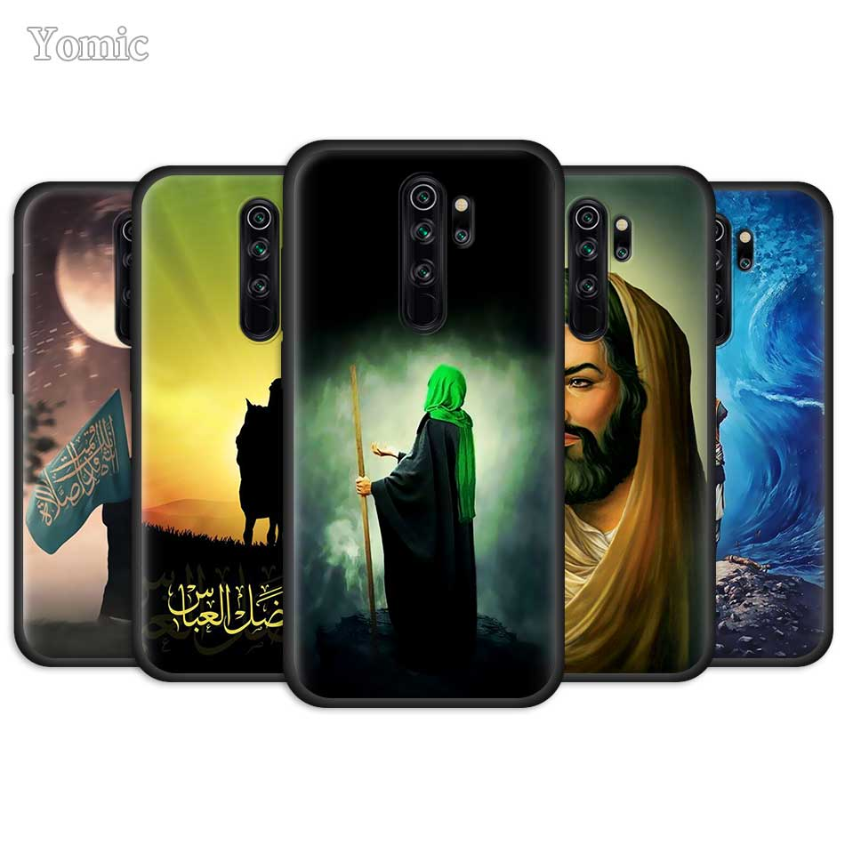 El Islam chiíta Imam Ali Iraq árabe para Xiaomi Redmi Note 8 8T 9S 9 10X 4G K20 K30 Pro K30i 5G 6 6 7 8A suave negro de la cubierta del teléfono