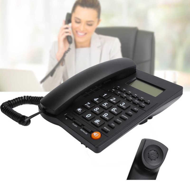 L019Telefone المنزل الهاتف الثابت رقم المتصل مكالمة هاتفية حر اليدين الطلب الخلفي رقم التخزين للمنزل مكتب فندق مطعم
