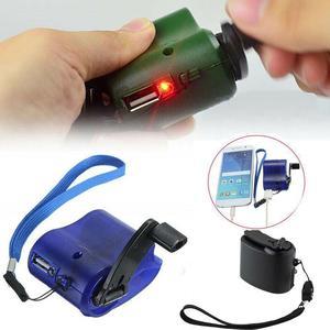 300 мА/ч, Портативный USB аварийный Зарядное устройство динамо рукоятки Зарядное устройство телефона гаджет USB Ручной Мощность сотовый Динамо аварийного Q0R9