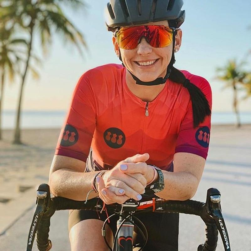 Велосипедная майка ТРЕС Пинас, Женская велосипедная рубашка, нагрудники, шорты, женская одежда, уличная майка, одежда для велоспорта, быстро...