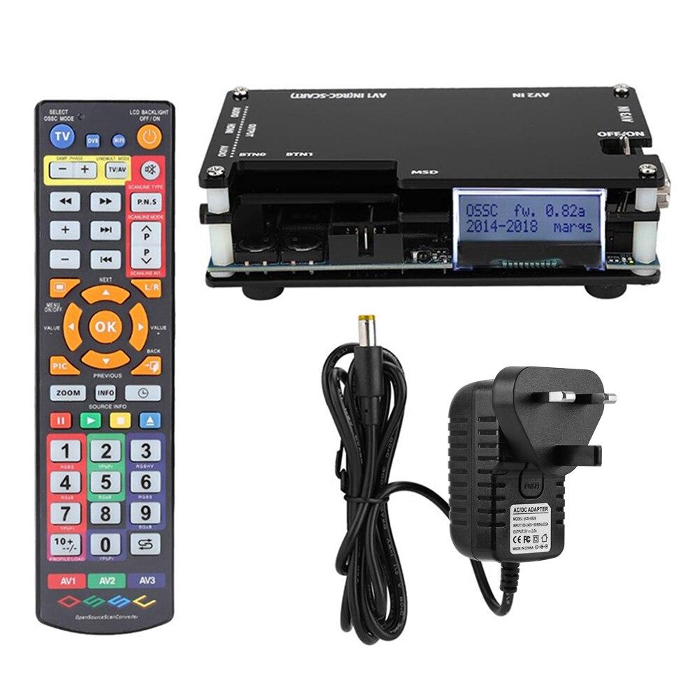 وصل حديثًا طقم محول متوافق مع HDMI من OSSC لوحدة تحكم ألعاب ريترو مفتوح المصدر محول مسح لجهاز PS 2 1 Xbox Sega Atari