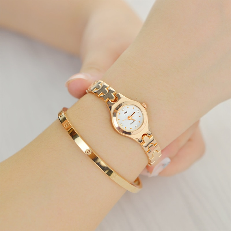 New Fashion Watches Women Waterproof Rose Gold Lady Quartz Watch Casual Relogio Feminino Crystal Ladies Wrist Watches enlarge