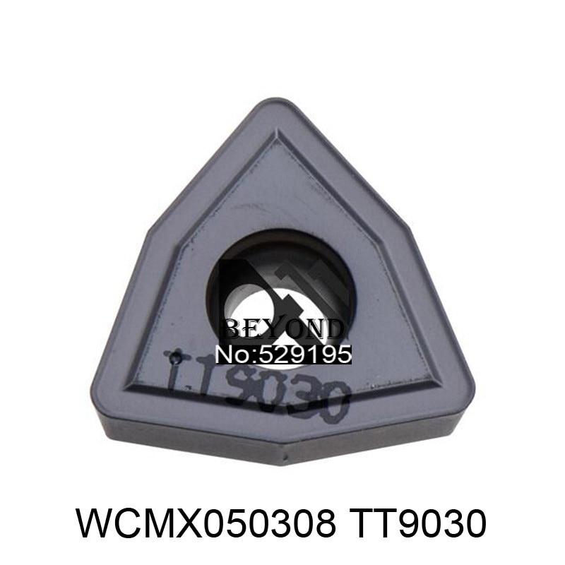 TegTec الأصلي إدراج WCMX050308 TT9030 WCMX 050308 كربيد إدراج عدة المخرطة باستخدام الحاسب الآلي القاطع تحول أداة