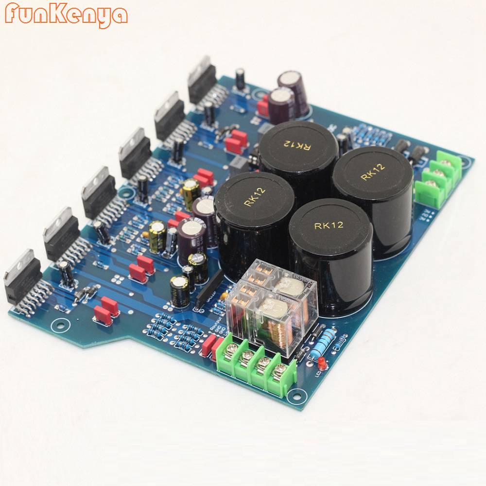 TDA7293 ثلاثة موازية HIFI اطلاق مجلس مكبر كهربائي عالية الطاقة في المستوى الخلفي النقي