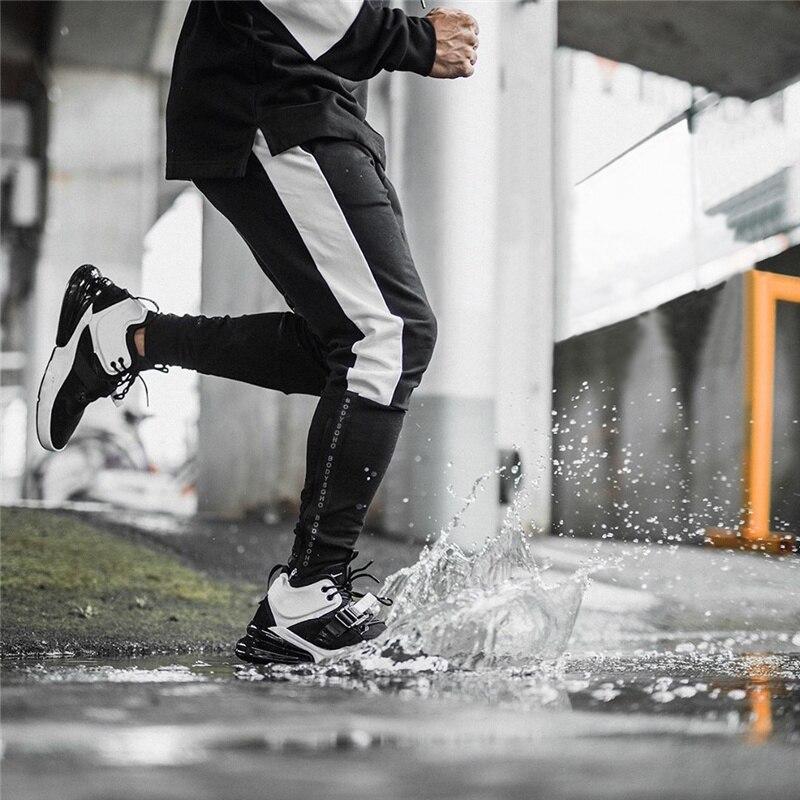 2020 primavera hombres Jogging Running Pants Mens Sport Pencil Pants algodón Joggers gimnasio de musculación pantalones mallas pantalones de chándal