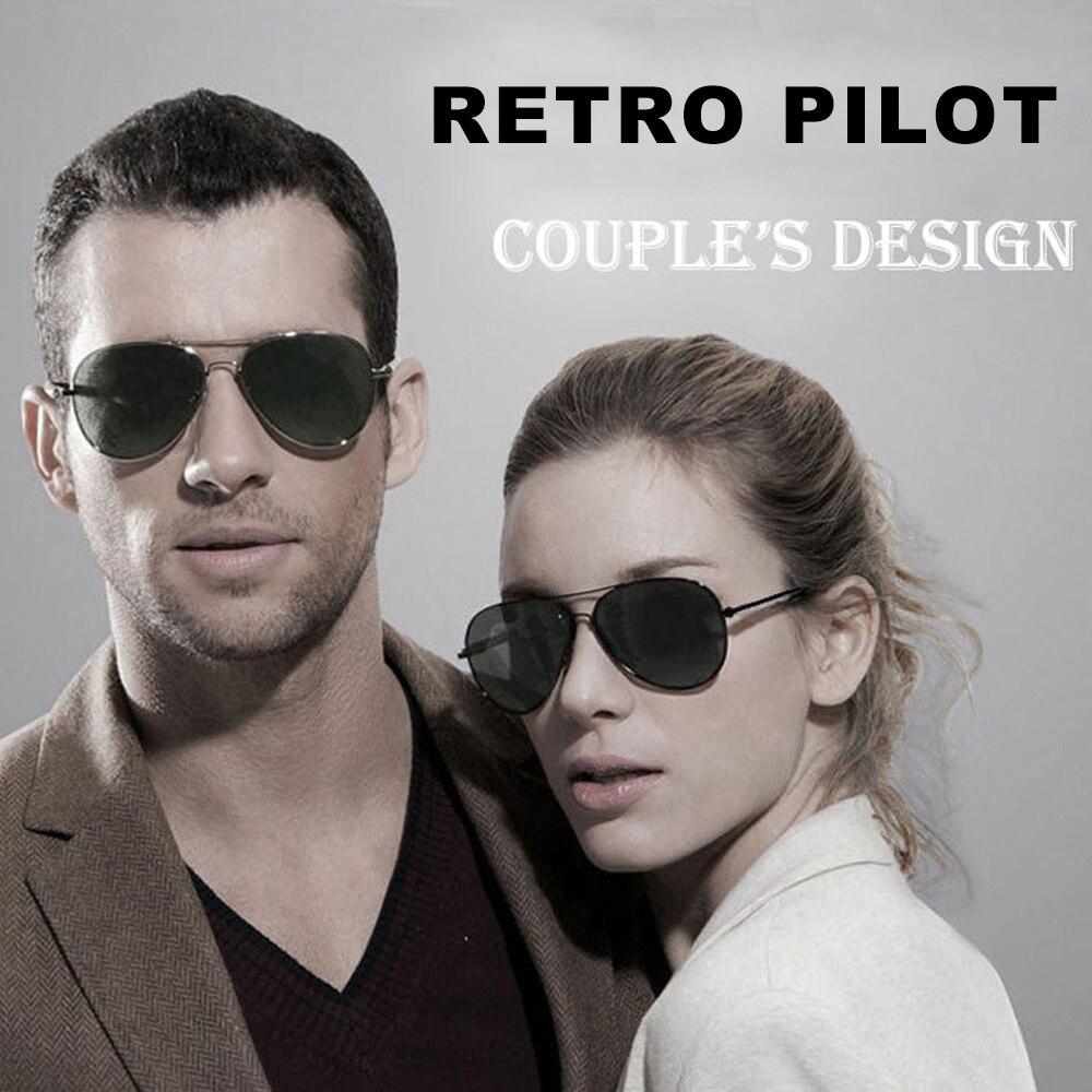 CONWAY 2 Pair Polarized Sunglasses Couple Matching Pilot Sun Glasses for Men Women Lovers Eyewear Li