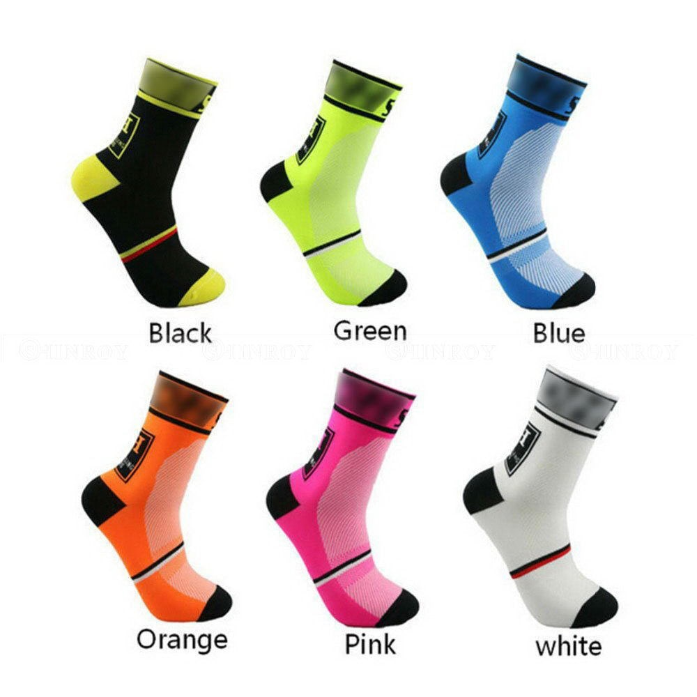 dh sports new cycling socks top quality professional brand sport socks breathable bicycle sock outdoor racing big size men women 6 Colors Men Women Cycling Socks Outdoor Sports Mountain Bike Racing Socks Breathable Road Bicycle Socks Bicycle Footwear