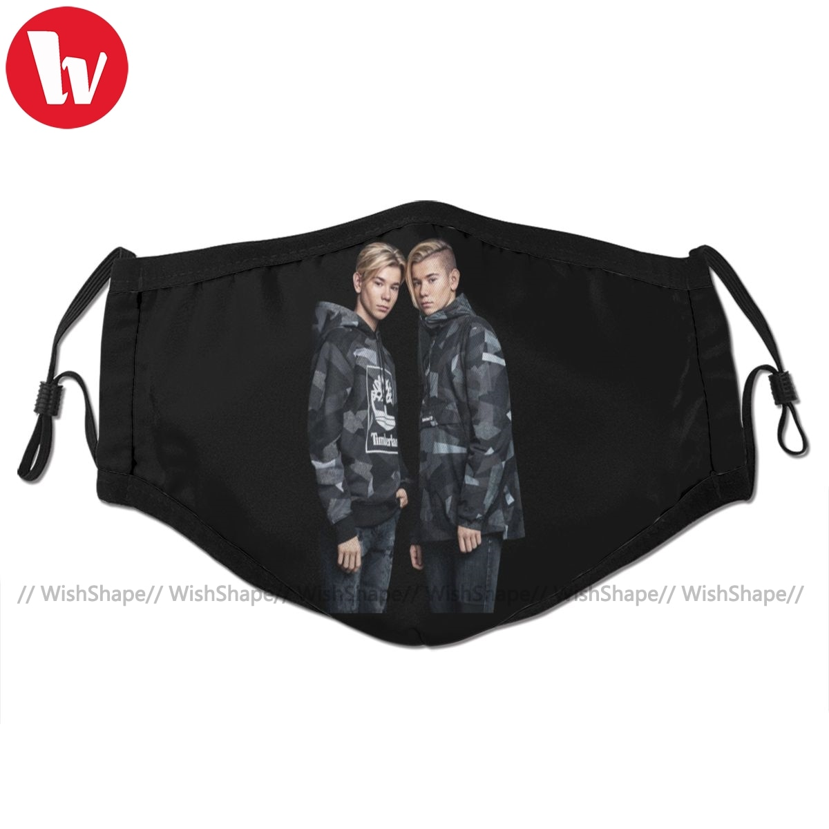 Marcus And Martinus Mouth Face Mask Marcus And Martinus Facial Mask Funny Fashion with 2 Filters for Adult недорого