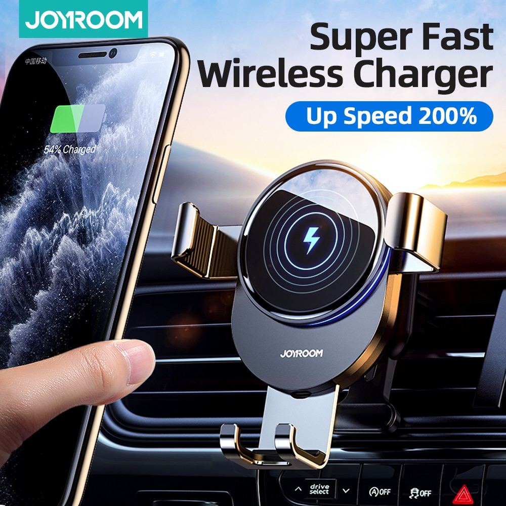 aliexpress.com - 15W Qi Car Phone Holder Wireless Charger Car Mount Intelligent Infrared for Air Vent Mount Car Charger Wireless ForiPhone Xiaomi