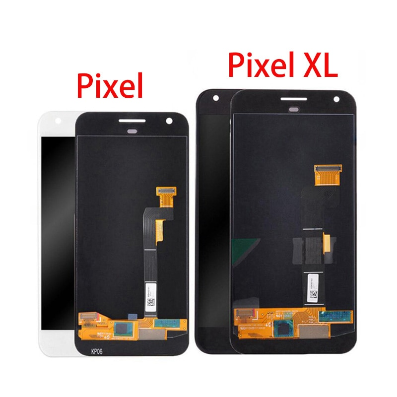 LCD Screen For Google Pixel 1 2 3 4 3A Pixel 4XL 2XL 3XL LCD Display Touch Screen Panel Digitizer Repair Replacement 100% test enlarge