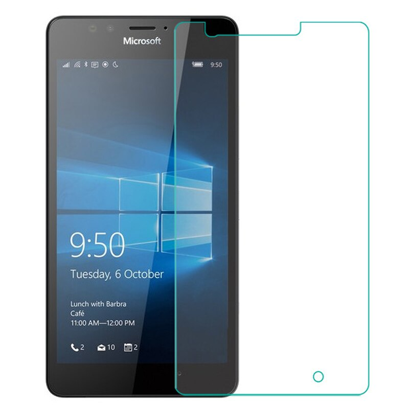 Protector de pantalla de vidrio templado para móvil, película protectora para Nokia...
