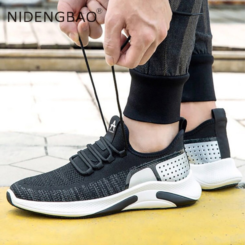 Men Sports Running Shoes Comfortables Breathable Casual Lightweight Running Wear-resistant Gym Shoes Sneakers Jogging rax men running shoes lightweight 2019 new style breathable gym running shoes outdoor sports sneakers for man tourism shoes